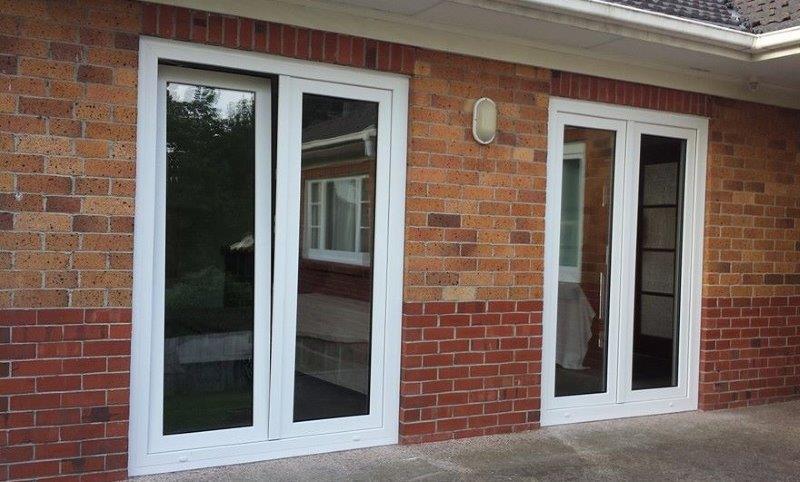 Tilt and turn door - Homerit UPVC double glazing windows & doors