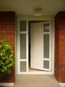 Homerit Entance Door - White Panel