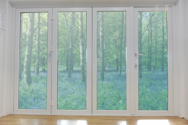 Bi Folding Door Homerit Upvc Double Glazing Windows